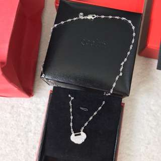Qeelin ruyi diamond necklace