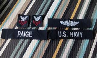 Pacth full set us navy issue