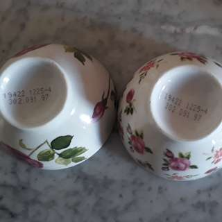 vintage Japanese 2 cups approved serial number