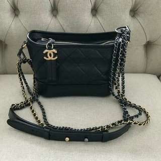 Ready BNIB Chanel Gabriele Small Black
