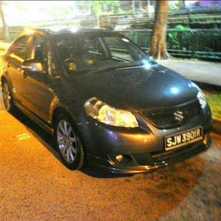 FREE 1 WEEK RENTAL! SUZUKI SX4! GRAB UBER READY! CHEAP CAR RENTAL! PROMOTION!