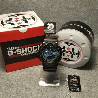 RARE> G-SHOCK GA-113B-1AJR 30th Anniversary Limited Edition fr Japan