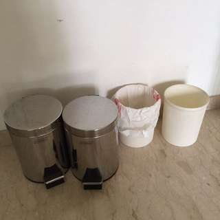 Dustbin Metal Plastic