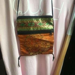Boho small shoulder bag