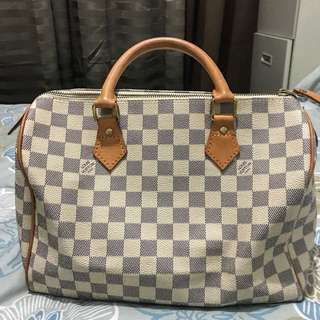 LV azur speedy 30 with date code