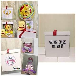 Balloon Surprise Box