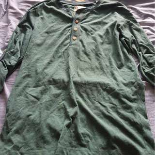 (Brand new) Esprit Green long sleeve tee