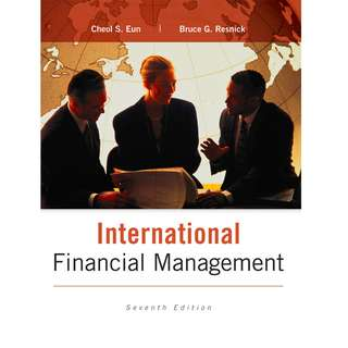 International Financial Management- 7th Edition