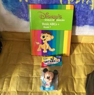 迪士尼美語世界 Disney's World of English basic ABC Box 7 + BB Mickey 立體膠公仔 (屯門市廣場自取)