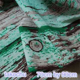 (NEW) Distressed Wood Grain Fabric For Photography Background