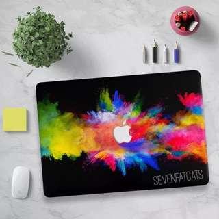 Poofwoosh Macbook Cover