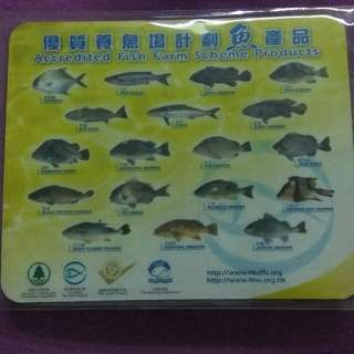 養魚場計劃 Mouse Pad