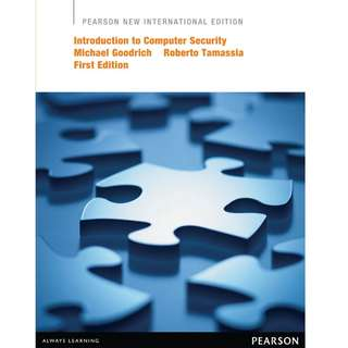 Introduction to Computer Security - Pearson New International Edition