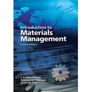 Introduction to Materials Management 7th Edition