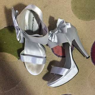 Gibi Collection Silver Heels