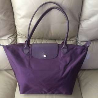 Pre-owned Longchamp bag (purple)
