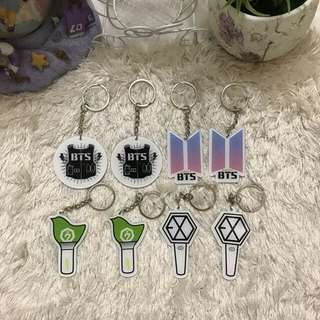 [READYSTOCK]Kpop Acrylic Keychain