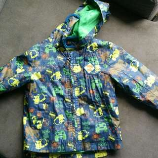 Debenhams rocha little rocha windbreaker/jacket/raincoat