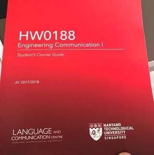 NTU HW0188 Engineering communication 1