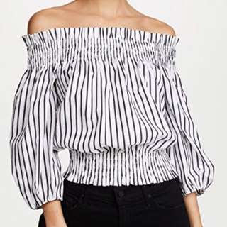 Caroline Constas off shoulder blouse