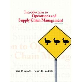 Introduction to operations and supply chain management 3rd edition