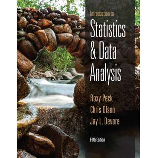 Introduction to Statistics and Data Analysis (5th Ed)