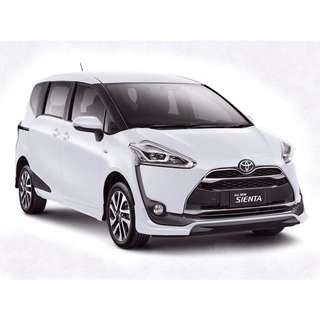 Brand New Toyota Sineta Hybrid For Rent!