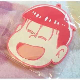 日本版 - 動漫卡通 おそ松さん 阿松 小松先生 松野 食玩盒蛋大膠吊飾鎖匙扣 Osomatsusan Big keyholder