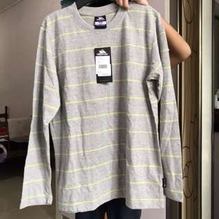 Trespass Grey stripe long sleeve