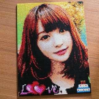 1月最新優惠!Mini Lego積木畫 gift 樂高 情人節 nanoblock 新年禮物 photo