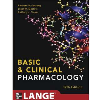 Basic and Clinical Pharmacology 12th Edition (2012)