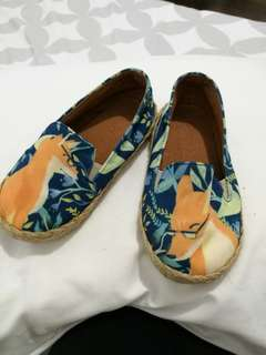 Suelas sliders fox print