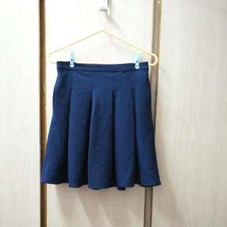 Lowrys Farm 深藍色 半身裙 及膝