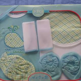 7 pieces baby gift