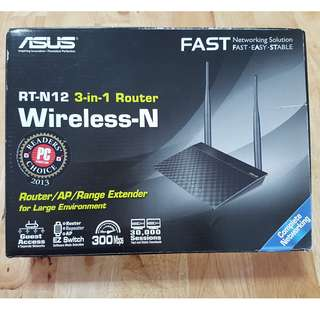 ASUS RT-N12 3-in-1 Router