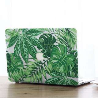 Forest Fern Macbook Cover
