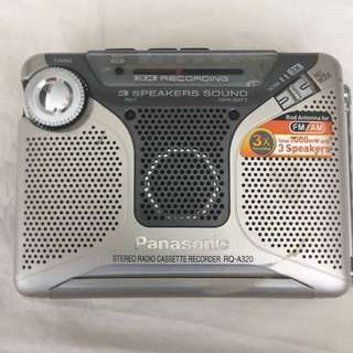 Panasonic Stereo Cassette Recorder RQ-A320