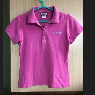#好物免費送 RBK Reebok 紫紅色 運動上衣 短袖 POLO衫