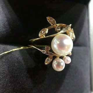 日本珍珠戒指