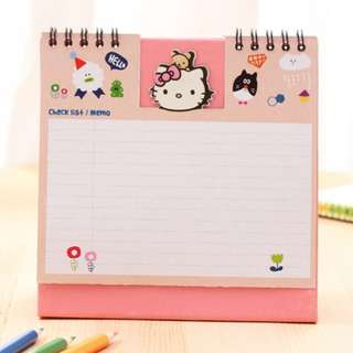 Hello Kitty 2018 Calendar w Memo