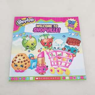 Shopkins story book