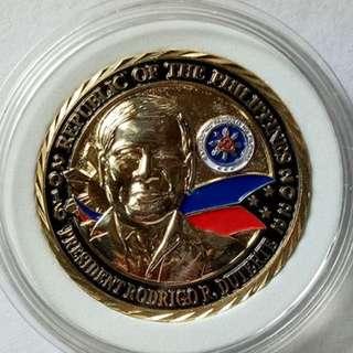 Pres. Rodrigo Duterte Commemorative Medal