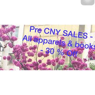 Pre CNY Sales