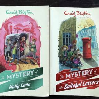 Preloved Enid Blyton Books