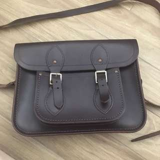 Cambridge satchel brown bag