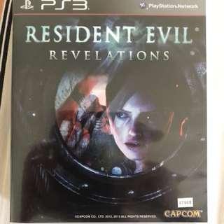 PS3 Game - Resident Evil Revelations