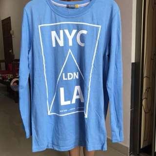 Urban Crusade Blue Long Sleeve