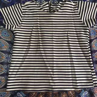 Stripe Blouse (preowned/preloved)