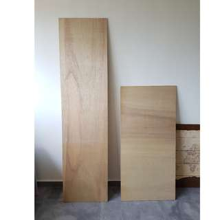 Solid plywood boards planks - DIY / shelf / projects / feature wall