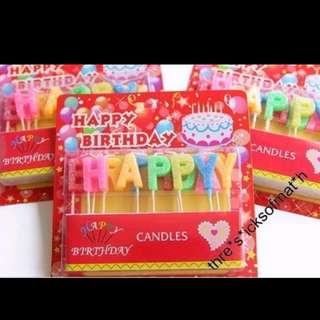 生日蠟燭(包郵)